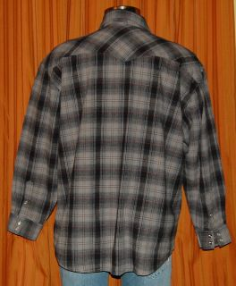 West Coast Choppers Jesse James Plaid L s Shirt Mens XL