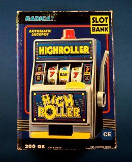 RADICA HIGH ROLLER electronic slot machine game CASINO BANK SLOT