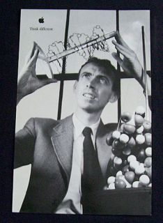 Authentic Apple Think Different Dr James Watson Think Different Poster