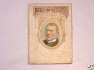 1907 Book Jewels from James Whitcomb Riley