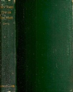 RARE 1876 Two Years Before Mast Early California Hawaii Travel Classic