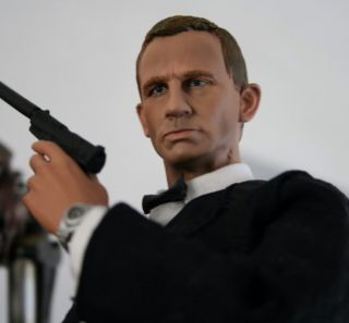 Custom Daniel Craig James Bond 12 1 6 Sideshow Skyfall Action Figure
