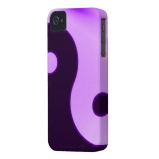 Purple yin yang iphone 4 barely case iPhone 4 cases