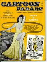 Cartoon Parade Jan 1962 PINUPS Jokes Eve Eden Bill Ward Free Shipping