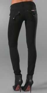 Hudson Collin Skinny Leggings with Flap Pockets