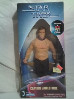 Star Trek Captain James Kirk Amok Time 9 Doll Figure