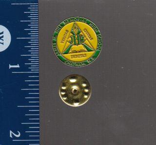 James M Hill Memorial High School Chatham NB Pin