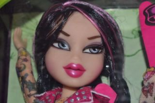 Bratz Totally TattooD Jade Tattoo Tattoed Doll New Super Cute Rocker