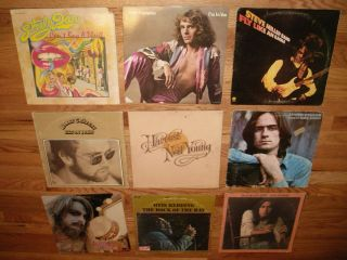 records Leon Russell otis redding fogelberg james taylor neil young