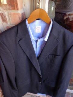 Joseph A Bank Navy Cashmere Mens Blazer Jacket Sport Suit Coat 43R 42R