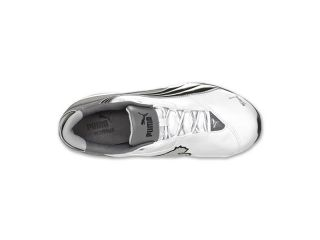 Puma Cell Jago 6 LN White Steel Grey Black Mens Athletic Sneakers