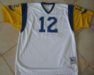 James Harris Los Angeles Rams 1974 Throwback NFL Jersey Size 60 5X