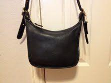 Coach Vtg Janices Legacy Black Bag Style 9950