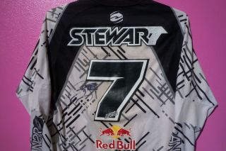 JAMES BUBBA STEWART #7 SIGNED ANSR REDBULL SUPERCROSS SX JERSEY RYAN