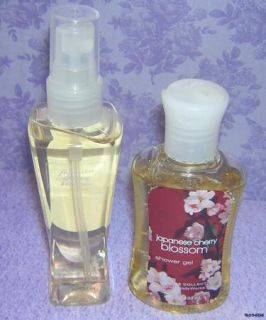 Bath Body Works Japanese Cherry Blossom Gel Splash