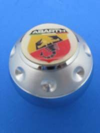 Abarth Fiat Spider Logo Aluminum Gear Shift Knob 210