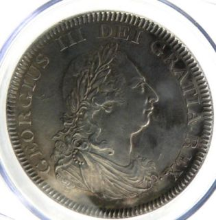George III 1804 Bank of England Silver Dollar CGS EF 60. Coin Has 11
