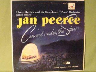 Jan Peerce Soloist Horlick Pops Orchestra Concert Under Stars Design
