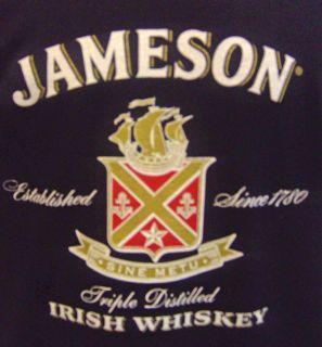 Jameson Irish Whiskey T Shirt Ireland Black Mens