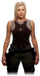 Battlestar Galactica BSG Double Tank Top T Shirt Uniform Set Costume