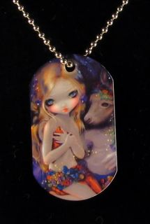 Jasmine Becket Griffith Art Fantasy Dogtag Necklace A Midsummer Night