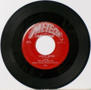 JT Brown Elmo James Hear It Orig 1954 Dumb Woman Blues Sax ony Boogie