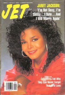 Jet Magazine 3 2 1987 Janet Jackson