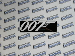 James Bond 007 Stickers Decals Movies Skyfall Colors Available Medium