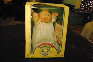 Patch Kids Kid PREEMIE Baby Rikki Janina Doll Vintage 1985 NRFB Papers
