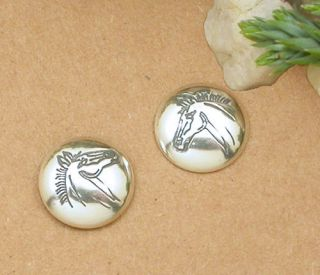 Horse Equestrian Jewellery Sterling Silver Earrings