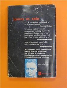 Loves Lovely Counterfeit James M Cain Avon 1954 PB 581