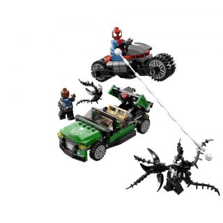 January 2013 Lego Super Heroes 76004 Spider Man Spider Cycle Chase NIB