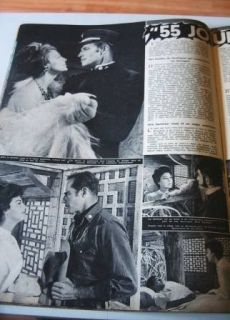 1962 Lyn Shaw Ingrid Bergman James Bond Alain Delon