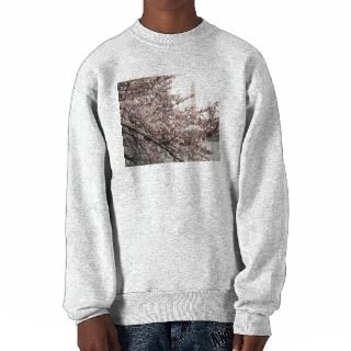 Cherry Blossom Washington DC Pullover Sweatshirts