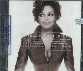 Janet Jackson Design of A Decade CD Greatest Hits Best
