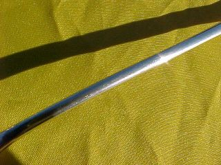 Tiffany Co Sterling Silver Long Open Heart Spoon