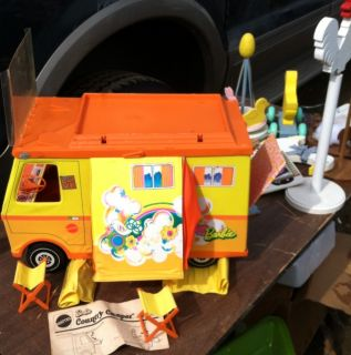 1970 Mattel Barbie Country camper Accessories