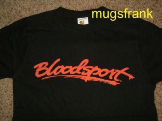 Bloodsport Jean Claude Van Damme Frank Dux Black Shirt