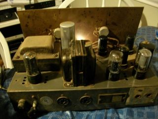 Stromberg Carlson AU32 Tube Amplifier