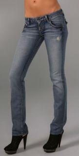 Hudson Carly Straight Leg Jeans