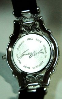Retired Kenneth Jay Lane Swarovski Crystal Ladies Wrist Watch Hinged