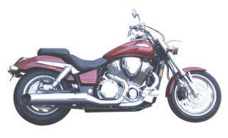 Jardine Rumbler Chrome Slip on Exhaust System Pipe Muffler Honda