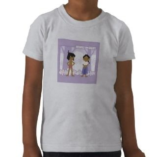 Jungle Books Mowgli and Shanti Disney T shirt