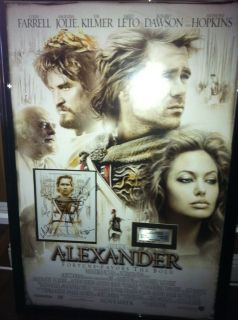 movie promo signed Val Kilmer Colin Ferrel Angelina Jolie Jared Leto