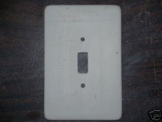 Ceramic Mold Jay Kay Large Plain Switch Plate Cover