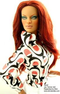 Janet OOAK Tonner Doll Jac Repaint 16 by Shin
