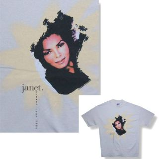 Janet Jackson 1994 Summer Tour Tan T Shirt XL New