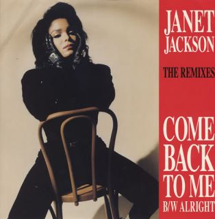 Janet Jackson Come Back to Me 3 Mixes UK Remixes 12
