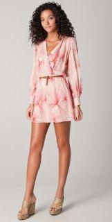 Parker Long Sleeve Wrap Dress