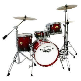 custom classic pro birch shell pack jazz drum set cherry fade